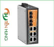 BỘ MANAGED SWITCH MẠNG  6 RJ45, 2 CỔNG QUANG ST(FIBER OPTIC) WEIDMULLER 1240990000 - IE-SW-VL08MT-6TX-2ST, INDUSTRIAL ETHERNET MANAGED SWITCH 6 RJ45/ 2 FIBER OPTIC 1240990000 - IE-SW-VL08MT-6TX-2ST