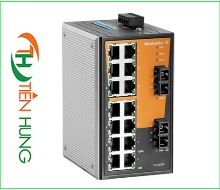 BỘ SWITCH MẠNG WEIDMULLER 14 CỔNG RJ45, 2 CỔNG QUANG (FIBER OPTIC) 1241030000 - IE-SW-VL16-14TX-2SC,  INDUSTRIAL ETHERNET SWITCH 14 PORTS RJ45 1241030000 - IE-SW-VL16-14TX-2SC
