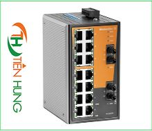 BỘ SWITCH MẠNG WEIDMULLER 14 CỔNG RJ45, 2 CỔNG QUANG (FIBER OPTIC) 1241050000 - IE-SW-VL16-14TX-2ST, INDUSTRIAL ETHERNET SWITCH 14 PORTS RJ45 1241050000 - IE-SW-VL16-14TX-2ST