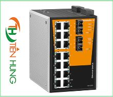 BỘ MANAGED SWITCH MẠNG  14 RJ45, 2 CỔNG QUANG SC(FIBER OPTIC) WEIDMULLER 1286830000 - IE-SW-PL16MT-14TX-2SC, INDUSTRIAL ETHERNET MANAGED SWITCH 14 RJ45/ 2 FIBER OPTIC 1286830000 - IE-SW-PL16MT-14TX-2SC