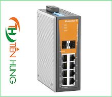 BỘ SWITCH MẠNG  6 CỔNG RJ45, 2 COMBO PORT WEIDMULLER 1286870000 - IE-SW-VL08T-6GT-2GS, INDUSTRIAL ETHERNET SWITCH 6 PORTS RJ45 UNMANAGED 1286870000 - IE-SW-VL08T-6GT-2GS