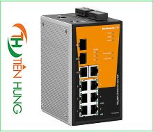 BỘ MANAGED SWITCH MẠNG 8 RJ45, 2 CỔNG 1000BaseSFP WEIDMULLER 1286940000 - IE-SW-PL10MT-1GT-2GS-7TX, INDUSTRIAL ETHERNET MANAGED SWITCH 8 RJ45/ 2*1000BaseSFP 1286940000 - IE-SW-PL10MT-1GT-2GS-7TX