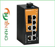 BỘ SWITCH MẠNG WEIDMULLER 7 CỔNG RJ45 LOẠI UNMANAGED 1412090000 - IE-SW-BL08-7TX-1ST, INDUSTRIAL ETHERNET SWITCH 7 PORTS RJ45 UNMANAGED 1412090000 - IE-SW-BL08-7TX-1ST, WEIDMULLER VIỆT NAM