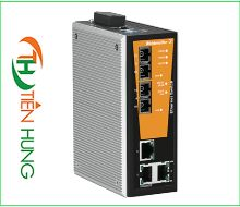 BỘ MANAGED SWITCH MẠNG  3 RJ45, 2 CỔNG QUANG SC(FIBER OPTIC) WEIDMULLER 1504350000 - IE-SW-VL05MT-3TX-2SC, INDUSTRIAL ETHERNET MANAGED SWITCH 3 RJ45/ 2 FIBER OPTIC 1504350000 - IE-SW-VL05MT-3TX-2SC