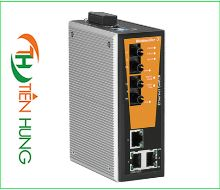 BỘ MANAGED SWITCH MẠNG  3 CỔNG RJ45, 2 CỒNG QUANG (FIBER OPTIC) WEIDMULLER 1504370000 - IE-SW-VL05M-3TX-2ST, INDUSTRIAL ETHERNET MANAGED SWITCH 3 RJ45/ 2 FIBER OPTIC 1504370000 - IE-SW-VL05M-3TX-2ST